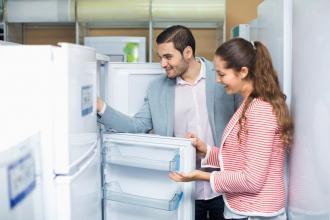 холодильник открыт