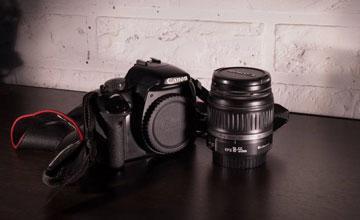 Canon 450D и объектив