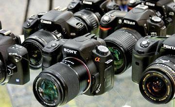 Много фотоаппаратов