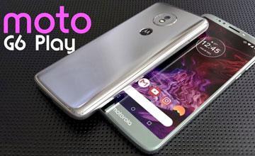 Смартфон Moto G6 появился в России